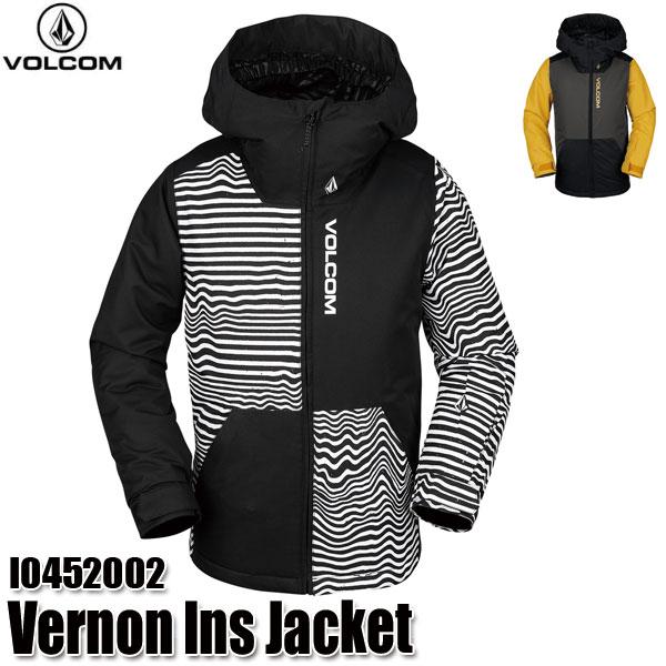 スーパーSALE 19-20 ボルコム バーノン インサレーター ジャケット Volcom Vernon Ins Jacket I0452002 BKS/VBK スノーウェア ジュニア 子供用 2020