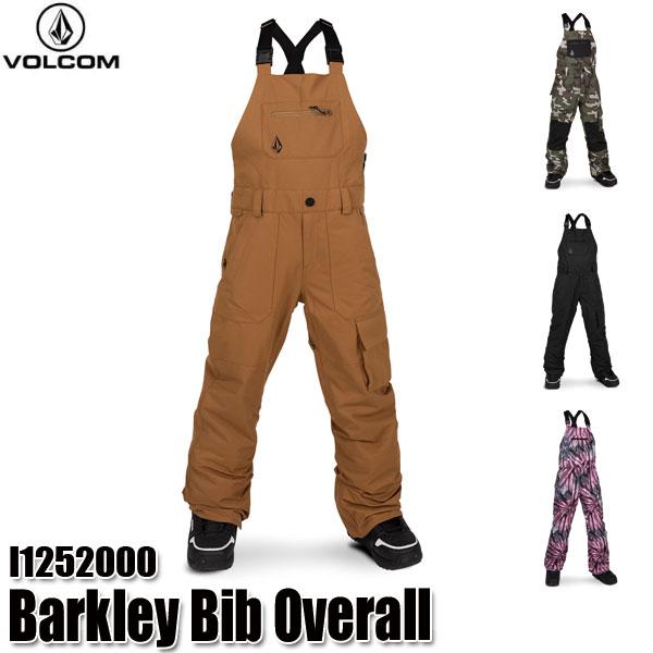 予約商品 19-20 ボルコム バークレー ビブオーバーオール パンツ Volcom Barkley Bib Overall I1252000 BLK/CMG/CRL/PUR スノーウェア ジュニア 子供用 2020