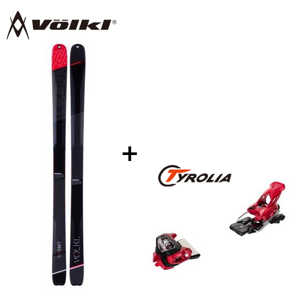 15-16 フォルクル スキー板 VOLKL V-WERKS BMT 94 186cm Tyrolia ATTACK2 11 チロリア ビンディング付き 取付・送料無料