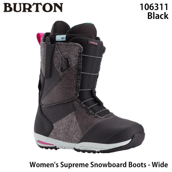 BURTON 21-22 早期予約 バートン 新色 新商品 新型 スノーボード ブーツ 靴 サプリーム Women's - スノボ 日本正規品 レディース Wide Snowboard 2022 Supreme Boots