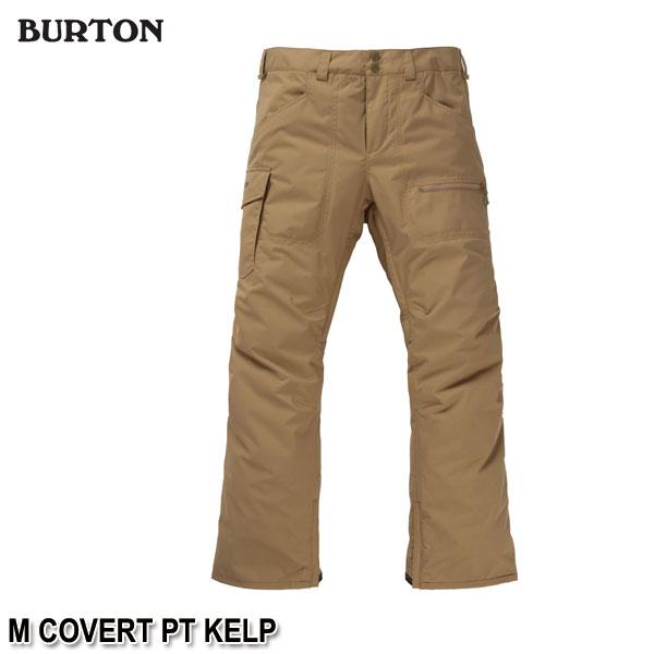 特典付 19-20 バートン BURTON M COVERT PT KELP スノーウェア パンツ メンズ 男性用 2020 日本正規品 予約