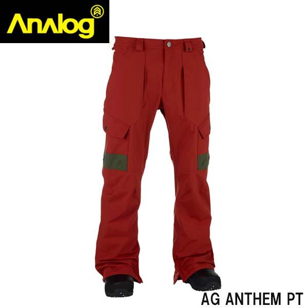 感謝価格 Analog メンズウェア 買収 アナログ analog ウェア 10236101608 AG ANTHEM S スノーボード アウトレット メンズ 型落ち PT OCHRE RED