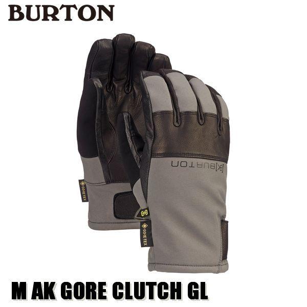 19-20 バートン BURTON [ak] GORE-TEX Clutch Glove グローブ メンズ 男性用 2020 日本正規品 予約