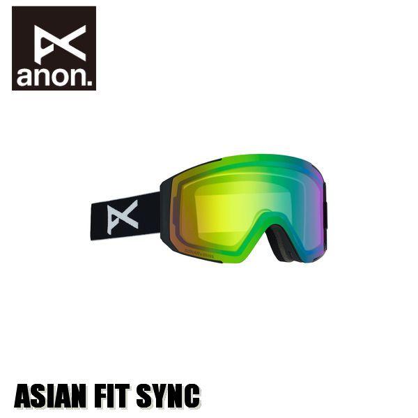 19-20 アノン anon Women's Sync Goggle Asian Fit With Bonus Lens ゴーグル ウィメンズ 女性用 予約