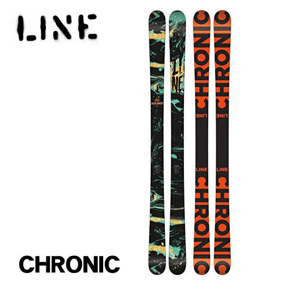 ライン スキー板 クロニック Line CHRONIC 185cm 板のみ FLAT ツインチップ フリースタイル パーク 送料無料 日本正規品