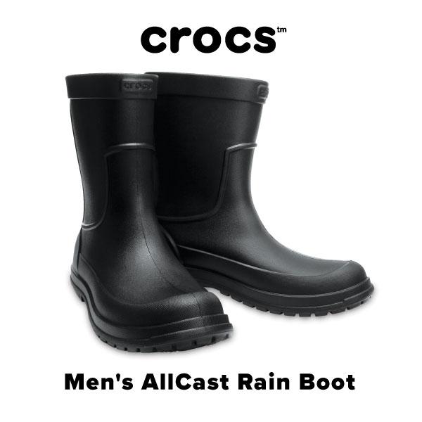 Men's AllCast Rain Boot【オールキャスト レイン ブーツ メン】◉クロックス正規取扱店なのでご安心ください◉