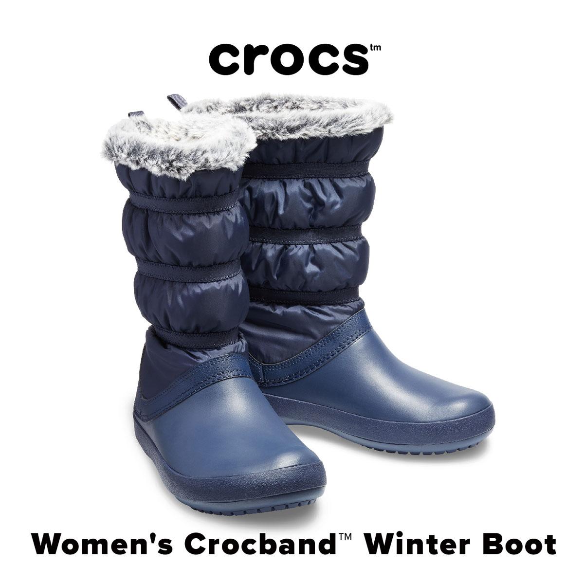 【SALE!!】Women's Crocband Winter Boot【クロックバンド ウィンター ブーツ ウィメン】◉クロックス正規取扱店なのでご安心ください◉