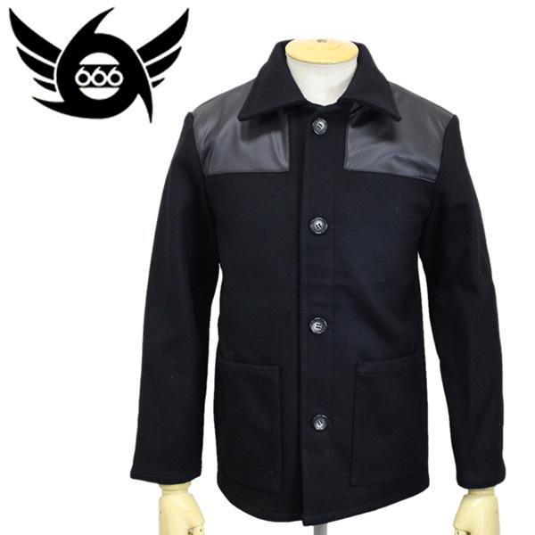 正規取扱店 666 JOE HAWKINS Donkey Jacket (ジョーホーキンス ドンキージャケット) ブラック JHJ0001