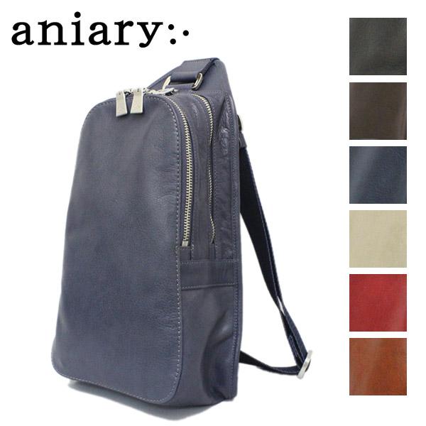 正規取扱店 aniary(アニアリ アニアリー) 01-07004 アンティークレザー ボディバッグ 全7色 AN089