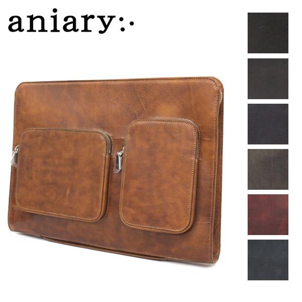 正規取扱店 aniary(アニアリ アニアリー) 11-08002 ニューアイディアルレザー クラッチバッグ 全7色 AN138
