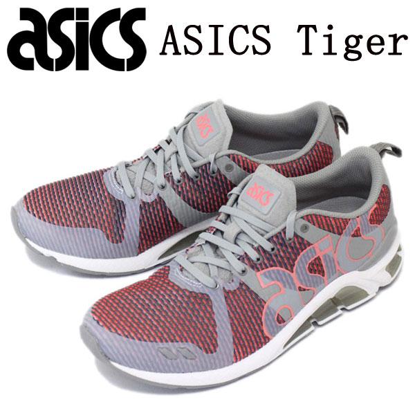 sale セール 正規取扱店 ASICS Tiger (アシックスタイガー) TQN6C1-1273 GEL-LYTE ONE EIGHTY (ゲルライト ワンエイティ) スニーカー ミディアムグレーxグアバ AT076