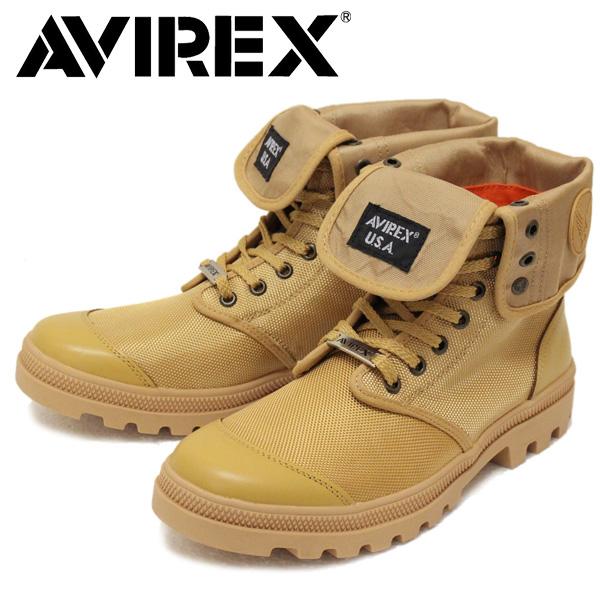 正規取扱店 AVIREX U.S.A.(アビレックス) AV3402 SCORPION HI NYLON(スコーピオンハイナイロン) BEIGE