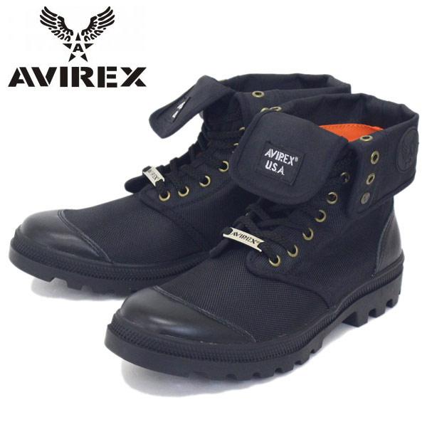 正規取扱店 AVIREX U.S.A.(アビレックス) AV3402 SCORPION HI NYLON(スコーピオンハイナイロン) BLACK
