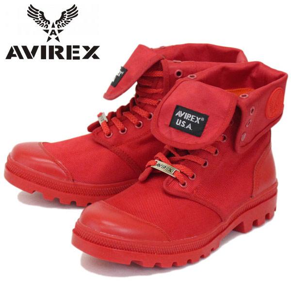 正規取扱店 AVIREX U.S.A.(アビレックス) AV3402 SCORPION HI NYLON(スコーピオンハイナイロン) RED
