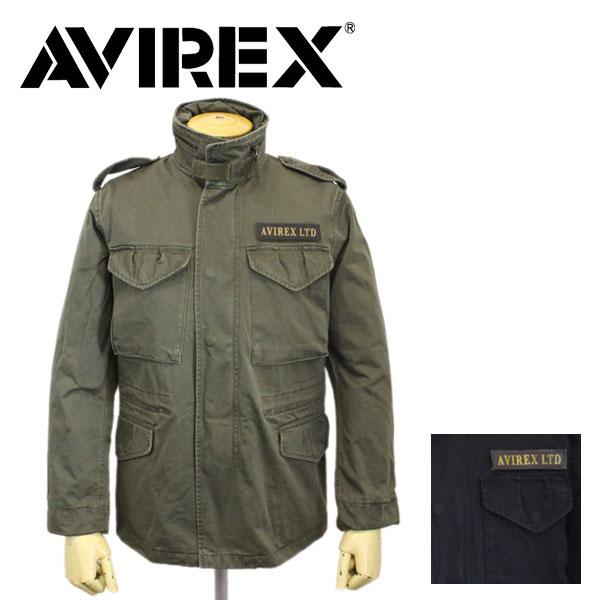 正規取扱店 AVIREX (アヴィレックス) BASIC M-65 JACKET (ベーシック エム65 ジャケット) 全2色