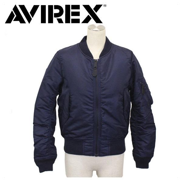 正規取扱店 AVIREX (アビレックス) WMS MA-1 COMMERCIAL コマーシャル フライトジャケット レディース 86-ROYAL