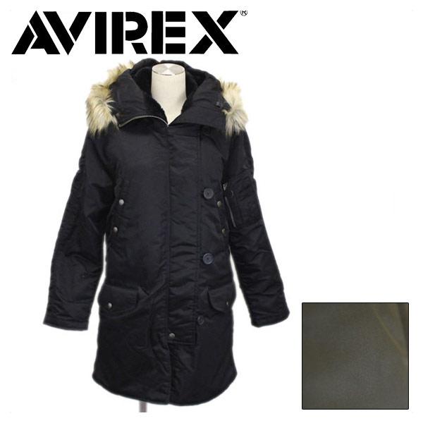 正規取扱店 AVIREX (アヴィレックス) LADIES N-3B COMMERCIAL (レディース コマーシャル ジャケット) 全2色