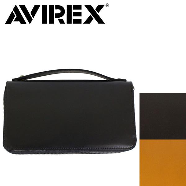 正規取扱店 AVIREX (アヴィレックス) BEIDE(バイド) AVX1809 レザーオーガナイザー マルチケース 全3色