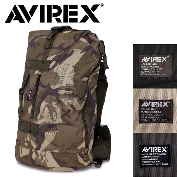 正規取扱店 AVIREX (アヴィレックス) AVX3514 4WAY ボンサック / リュック / ショルダー バッグ 全4色