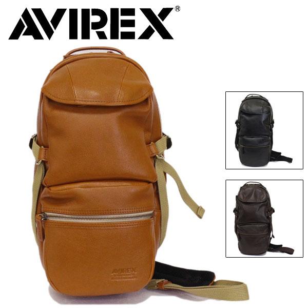 正規取扱店 AVIREX (アヴィレックス) Bulto(ブルト) AVX5611 レザーワンショルダーバッグ 全3色