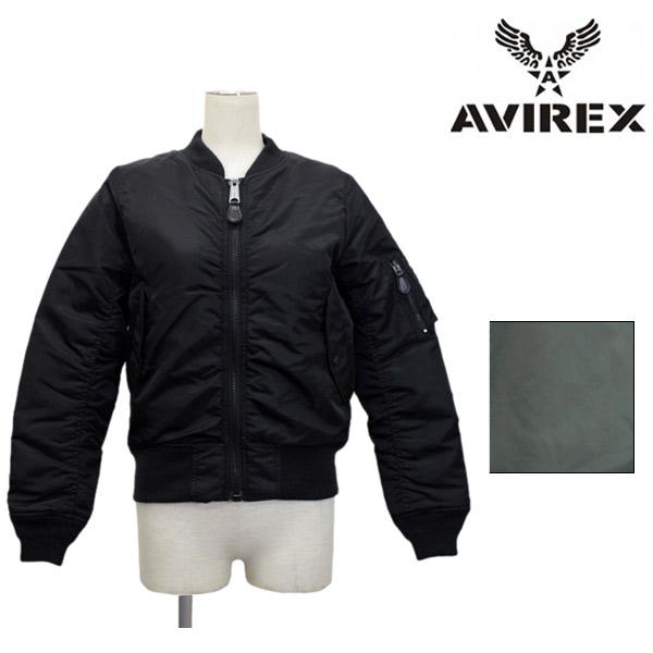 正規取扱店 AVIREX(アビレックス) MA-1 COMMERCIAL(MA-1フライトジャケットコマーシャル) レディース 全2色