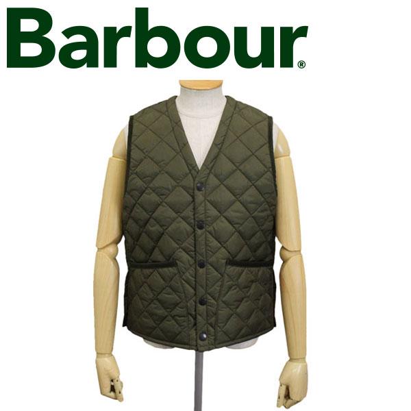 正規取扱店 BARBOUR (バブアー バブワー) 43639-075 QUILT VEST キルトベスト OLIVE BBR010