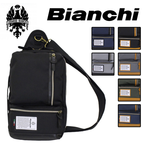 正規取扱店 Bianchi(ビアンキ) NBTC-49 4WAY ショルダーバッグ 全7色 BIA006