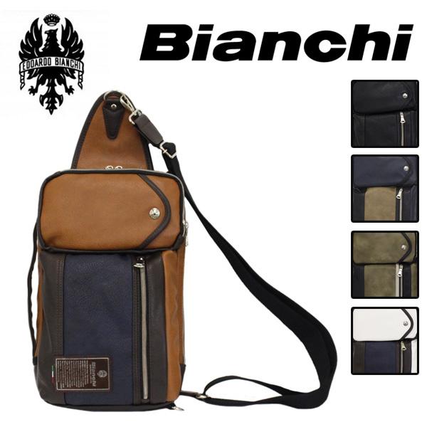 正規取扱店 Bianchi(ビアンキ) TBPI-06 3way ショルダーバッグ BLACK 全5色 BIA002