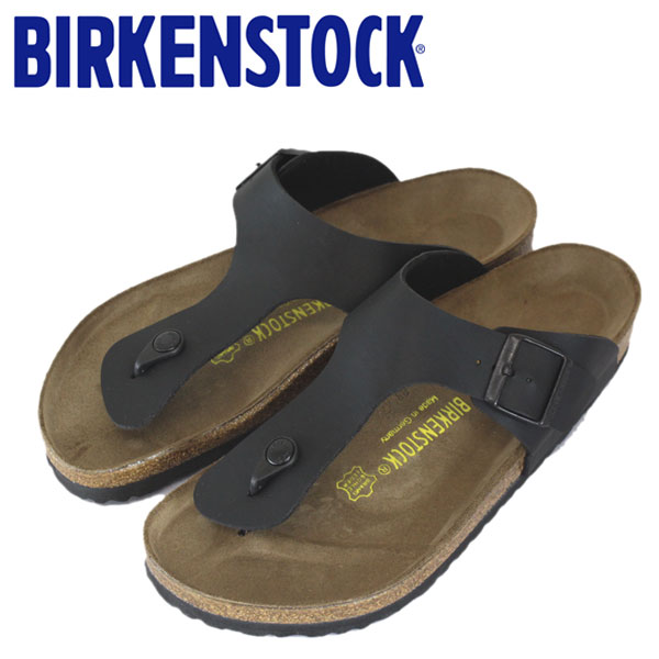 正規取扱店 BIRKENSTOCK (ビルケンシュトック) RAMSES (ラムゼス) サンダル レギュラー (幅広) BLACK (ブラック) BI010
