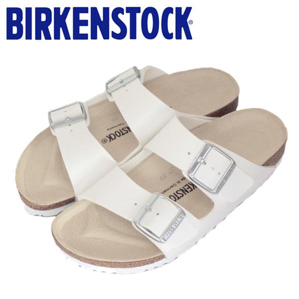 正規取扱店 BIRKENSTOCK (ビルケンシュトック) ARIZONA (アリゾナ) サンダル ナロー (幅狭) WHITE (ホワイト) BI014