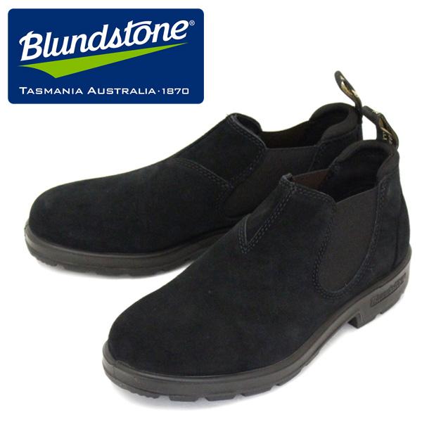 正規取扱店 Blundstone (ブランドストーン) BS1605009 LOW-CUT ローカット サイドゴア レザーブーツ BLACK BS006