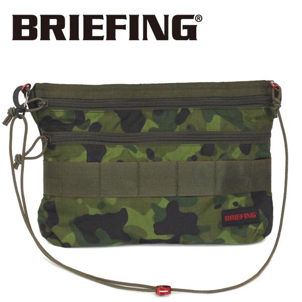 正規取扱店 BRIEFING (ブリーフィング) BRM181205-163 SACOCHE M SL PACKABLE (サコッシュ M SL パッカブル) TROPIC CAMOUFLAGE BR368