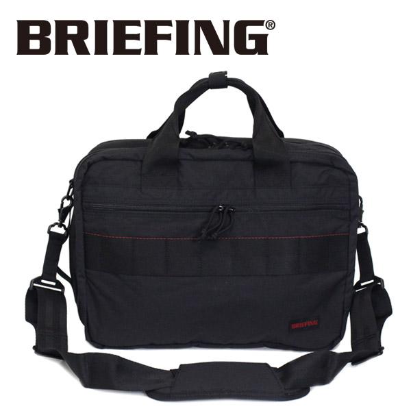 正規取扱店 BRIEFING (ブリーフィング) BRM181402 TR-3 S MW 3WAYバッグ BLACK BR382
