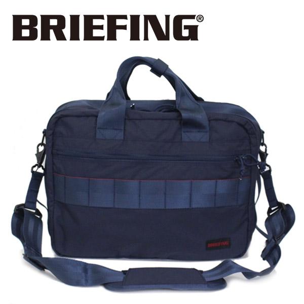 正規取扱店 BRIEFING (ブリーフィング) BRM181402 TR-3 S MW 3WAYバッグ NAVY BR383
