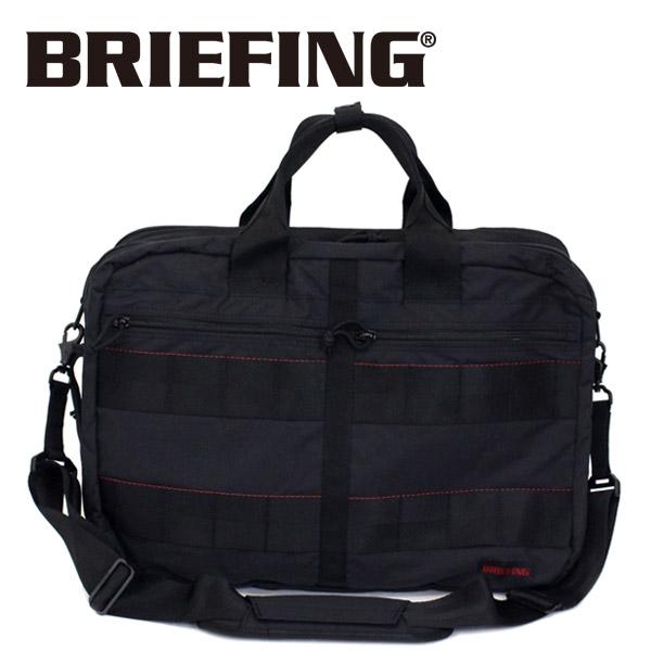 正規取扱店 BRIEFING (ブリーフィング) BRM181403 TR-3 M MW 3WAYバッグ BLACK BR384