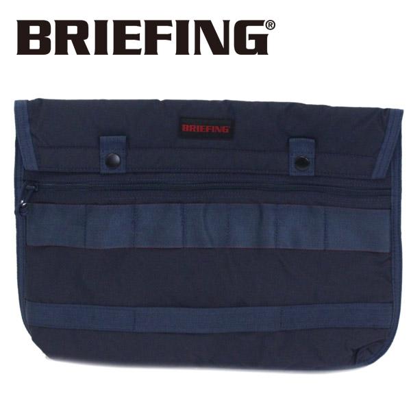 正規取扱店 BRIEFING (ブリーフィング) BRM181605 FLAP 13 MW フラップ ドキュメントケース NAVY BR390