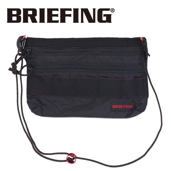 正規取扱店 BRIEFING (ブリーフィング) BRM182201 SACOCHE S SL PACKABLE サコッシュ パッカブル BLACK BR403