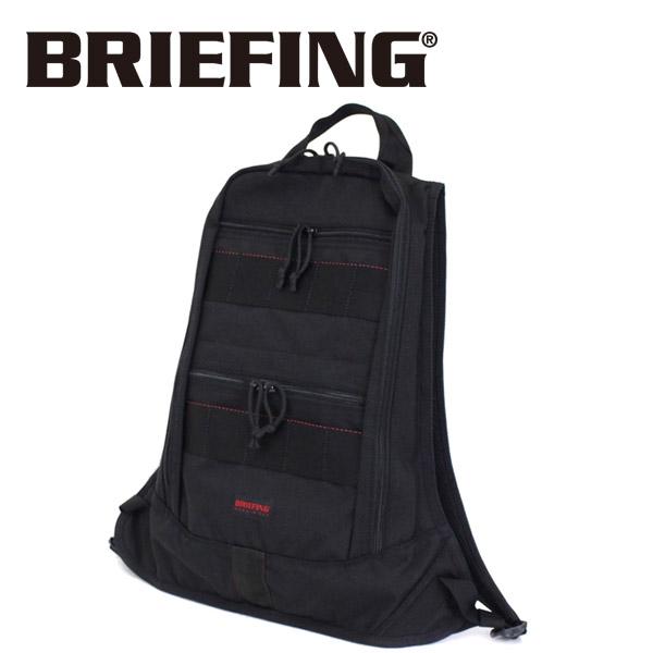 正規取扱店 BRIEFING (ブリーフィング) BRM183106 HUGGER ハガー バッグパック BLACK BR410