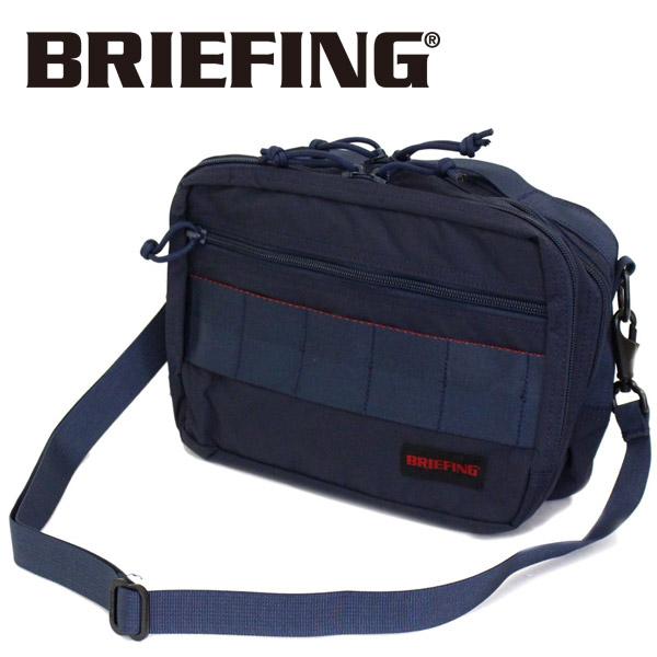 正規取扱店 BRIEFING (ブリーフィング) BRM183201 VIPER MW バイパー ショルダーバッグ NAVY BR412