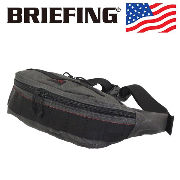 正規取扱店 BRIEFING (ブリーフィング) BRF225219-011 MASTER POD マスターポッド ボディバッグ STEEL アメリカ製 BR457