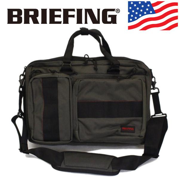 正規取扱店 BRIEFING (ブリーフィング) BRF399219-011 NEO TRINITY LINER ネオトリニティライナー 3WAY ブリーフケース STEEL BR435