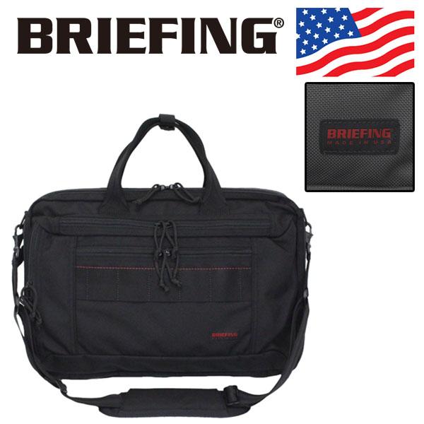 正規取扱店 BRIEFING (ブリーフィング) BRA193Y04 CLOUD B4 3WAY ショルダーバッグ 全2色 アメリカ製 BR484