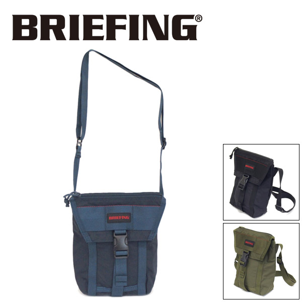 正規取扱店 BRIEFING (ブリーフィング) BRA201L21 JET TALL MW ジェットトール ショルダーバッグ 全3色 BR493