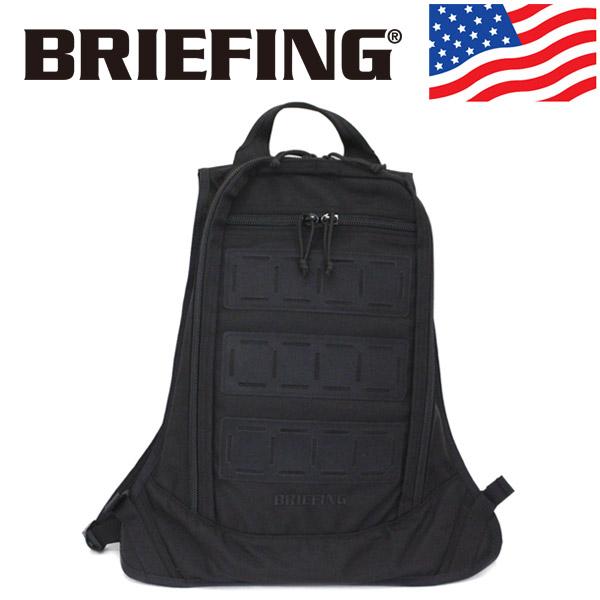 正規取扱店 BRIEFING (ブリーフィング) BRA201P05 PROGRESSIVE HUGGER プログレッシブハガー バックパック リュックサック 010 BLACK アメリカ製 BR494