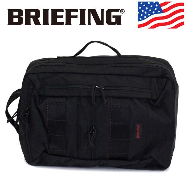 正規取扱店 BRIEFING (ブリーフィング) BRM191P06 CLOUD 2WAY PACK クラウド2ウェイパック バックパック 010 BLACK BR452