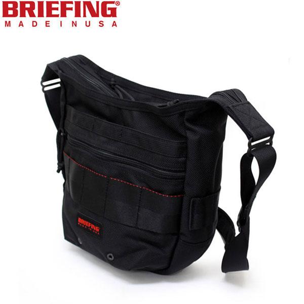 正規取扱店 BRIEFING(ブリーフィング) BRF105219 DAY TRIPPER BAG S(デイトリッパーバッグS) BLACK BR033