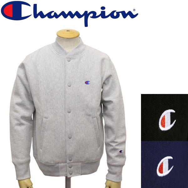 正規取扱店 Champion (チャンピオン) C3-L008 ReverseWeave STORMSHELL SNAP SWEAT ストームシェル スナップスウェットシャツ 全3色 CN012