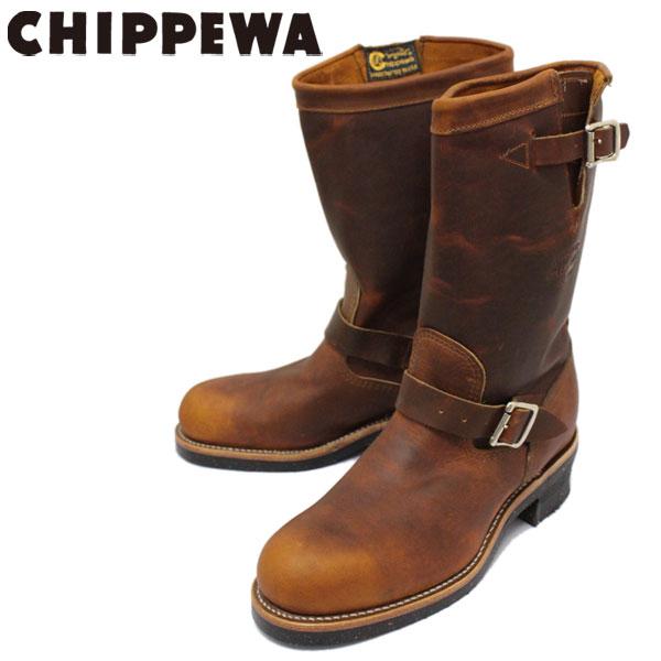 正規取扱店 CHIPPEWA (チペワ) 1901M05 11inch ORIGINAL STEEL TOE ENGINEER BOOTS 11インチ スチールトゥ エンジニアブーツ TAN