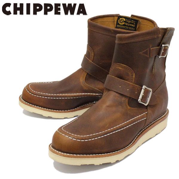 正規取扱店 CHIPPEWA (チペワ) 1901M08 7inch HIGHLANDER BOOTS 7インチ モックトゥ ハイランダーブーツ TAN