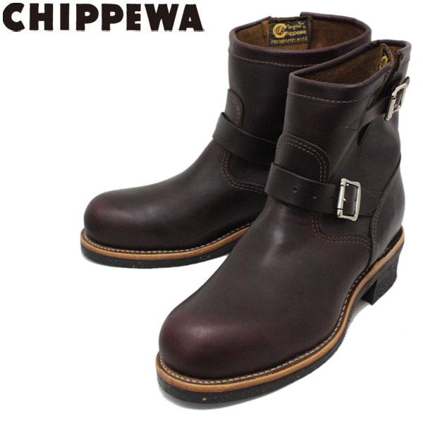 正規取扱店 CHIPPEWA (チペワ) 1901M11 7inch ORIGINAL STEEL TOE ENGINEER BOOTS 7インチ スチールトゥ エンジニアブーツ CORDOVAN